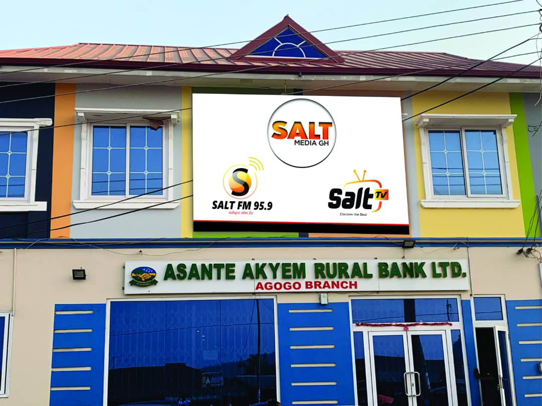 Salt Media GH office complex, Asante Akyem Agogo