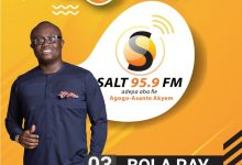 Photo of BOLA RAY TO ATTEND SALT MEDIA COMMISSIONING AT AGOGO