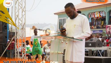Photo of SPEECH BY SALT 95.9 FM CEO AT THE LAUNCH OF THE STATION IN AGOGO, JANUARY 3, 2020