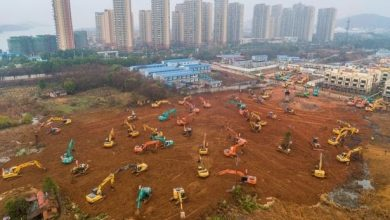 Photo of China is building a hospital to treat 1,000 in just SIX DAYS