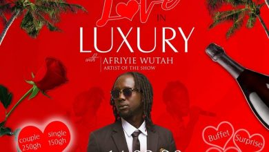 Photo of Love in Luxury with Afriyie Wutah slated for 14th February