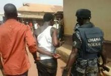 Photo of Nine Nigerian jailbreakers re-arrested in Ghana
