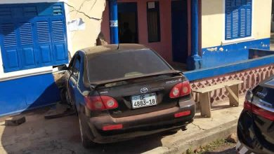 Photo of Pregnant policewoman injured after vehicle rams into police station