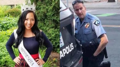 Photo of Wife of officer charged with murder of George Floyd announces she's divorcing him