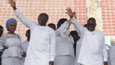 Photo of Nana Addo, Bawumia joins Muslims today to thank Allah for victory