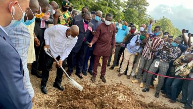 Photo of Photos: Akufo-Addo cuts sod for work to begin on New Eastern Regional Hospital