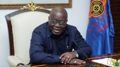 Photo of Akufo-Addo back in the office today after his 14-days isolation