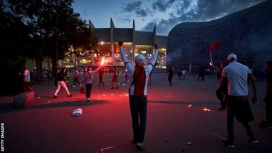 Photo of Police make 148 arrests after clashes following PSG Champions League defeat