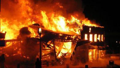 Photo of Fire destroys stores at Takoradi Market circle