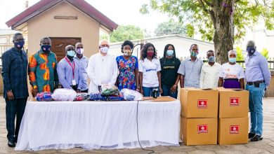 Photo of MASKS4ALL distributes face masks to the disabled, orphanages, leprosarium and kayaye