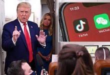 Photo of Trump to block U.S. downloads of TikTok, WeChat on Sunday