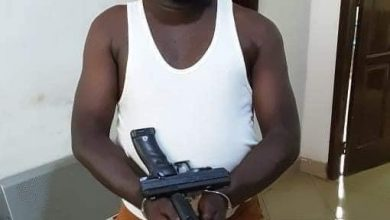 Photo of Tema-based armed robber arrested in Tamale [Photos]