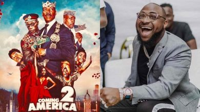 """Photo of Davido to feature in """"Coming to America 2"""""""