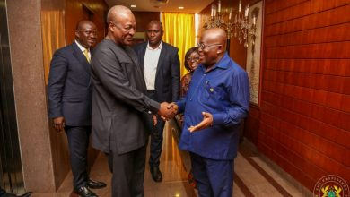 Photo of Let's settle the presidential debate now – Mahama to Akufo-Addo