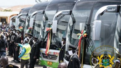 Photo of Akufo-Addo presents 100 buses to STC