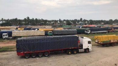 Photo of Hundreds of Trucks Parked At Borders Stall African Trade Pact