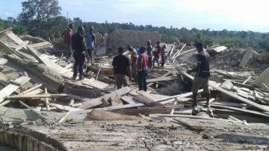 Photo of E/R church collapse: Rescue mission ends, 22 dead, 8 survived