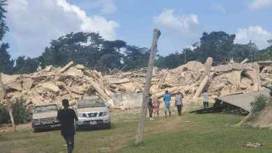 Photo of E/R: Death toll in church building collapse now 9