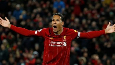Photo of Liverpool's van Dijk ruled out for a long time; vows to return stronger