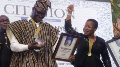 Photo of Samson Lardy Anyenini adjudged GJA Journalist of the Year for 2019