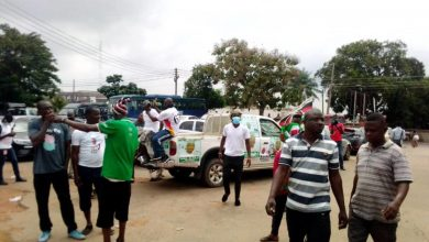 Photo of A/R: Tension mounts over arrest of NDC supporters in Asawase