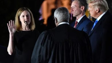 Photo of Amy Coney Barrett confirmed to US Supreme Court