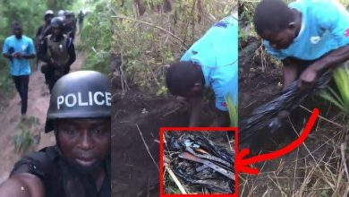 Photo of How police guns were retrieved from 'Western Togolanders' [VIDEO]