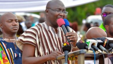 Photo of Mahama's record in the Upper East Region was a monumental failure – VP Bawumia