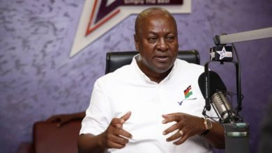 Photo of Video: I've tried not to get celebrities involved in my campaign – Mahama reacts to Sarkodie, Samini endorsing Nana