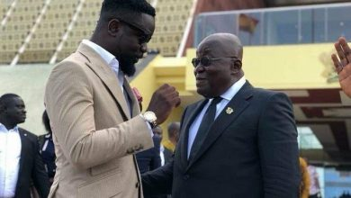 Photo of Video: Sarkodie endorses Akufo-Addo's bid for a second term