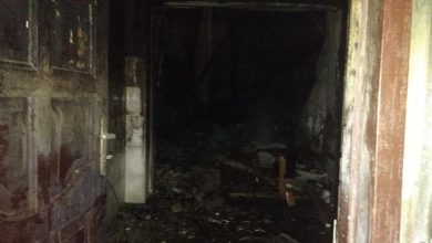 Photo of Fire Guts Offices of Ghana Business News in Accra