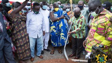 Photo of Akufo-Addo cuts sod for US$330 million boankra inland port