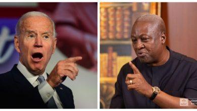 Photo of 'I look forward to working with you' – Mahama congratulates Biden