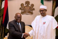 Photo of Buhari congratulates Akufo-Addo on re-election