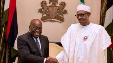 Photo of Buhari congratulates Akufo-Addo on re-election