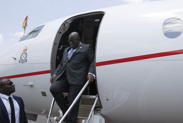 Photo of Akufo-Addo can't shower in presidential jet – Nitiwul justifies £15k an hour private jet