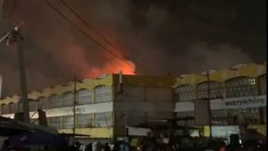 Photo of Videos: Parts of Kaneshie Market destroyed by fire