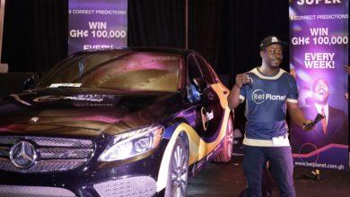 Photo of BetPlanet sets record, rewards winner of Golden Goal Promotion with sleek Mercedes