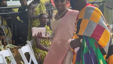 Photo of Photos: Akufo-Addo's Secretary, Nana Asante Bediatuo ties the knot