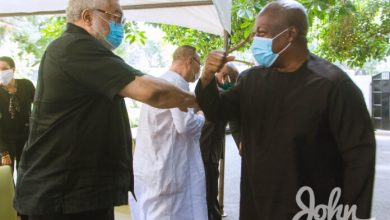 Photo of Mahama replaces Rawlings at 31st Dec. anniversary celebrations