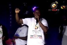 Photo of Video: Richard Mensah's exhilarating performance at Salt FM's Peace All-Night service