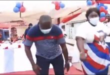 Photo of Election 2020: NPP's Protozoa shows off his dance moves [Video]