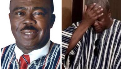 Photo of Asabee likens Mahama to 'Kejetia Tutubotom' as he urges electorates to ignore him.