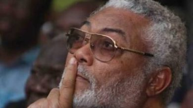 Photo of Live: Military Burial Service for Flt Lt Jerry John Rawlings