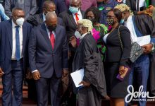 Photo of Mahama's lawyers file new application to halt election petition hearing