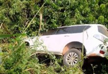 Photo of NPP MP involved in an accident