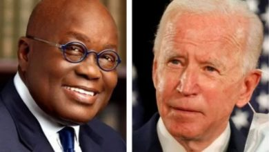 Photo of We'll work to address common problems – US President-elect, Joe Biden in a letter to Akufo-Addo