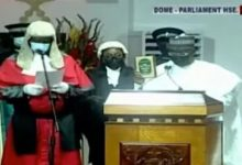 Photo of Bawumia sworn in as Vice President for a second term