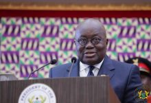 Photo of Full text: President Akufo-Addo's inaugural speech