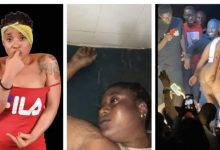 Photo of Video: Slay queen dies after being sexually harassed on stage